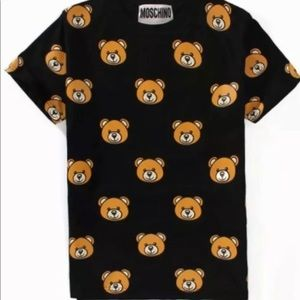 Moschino Bear print shirt